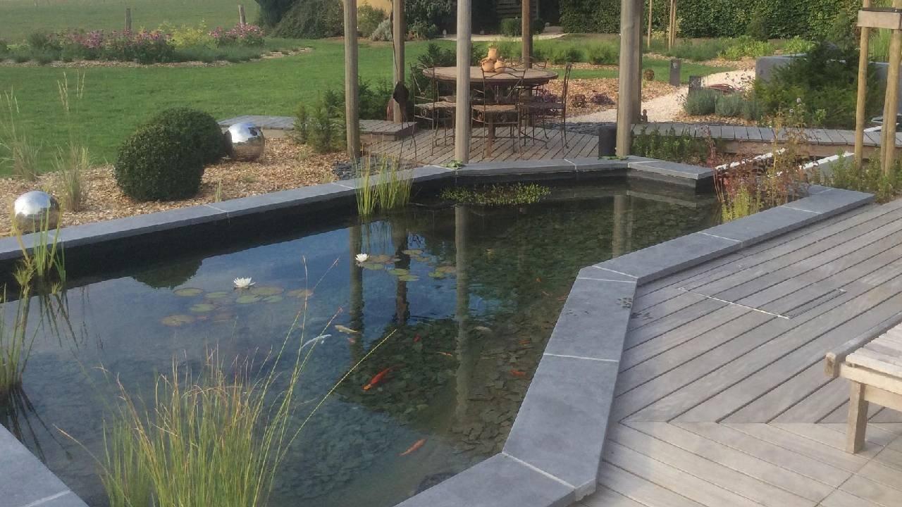 Emejing Etang De Jardin Polyester Pictures - House Design ...